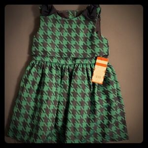 Toddler Girls' A-Line Dress - Cat & Jack™ Navy